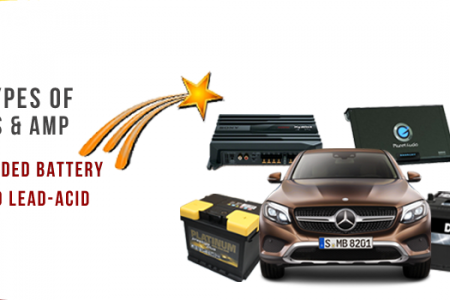 Different Types Of Car Batteries & AMP Infographic