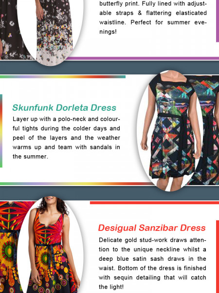 Different Types of Ethical Fashion Dress for Women Infographic