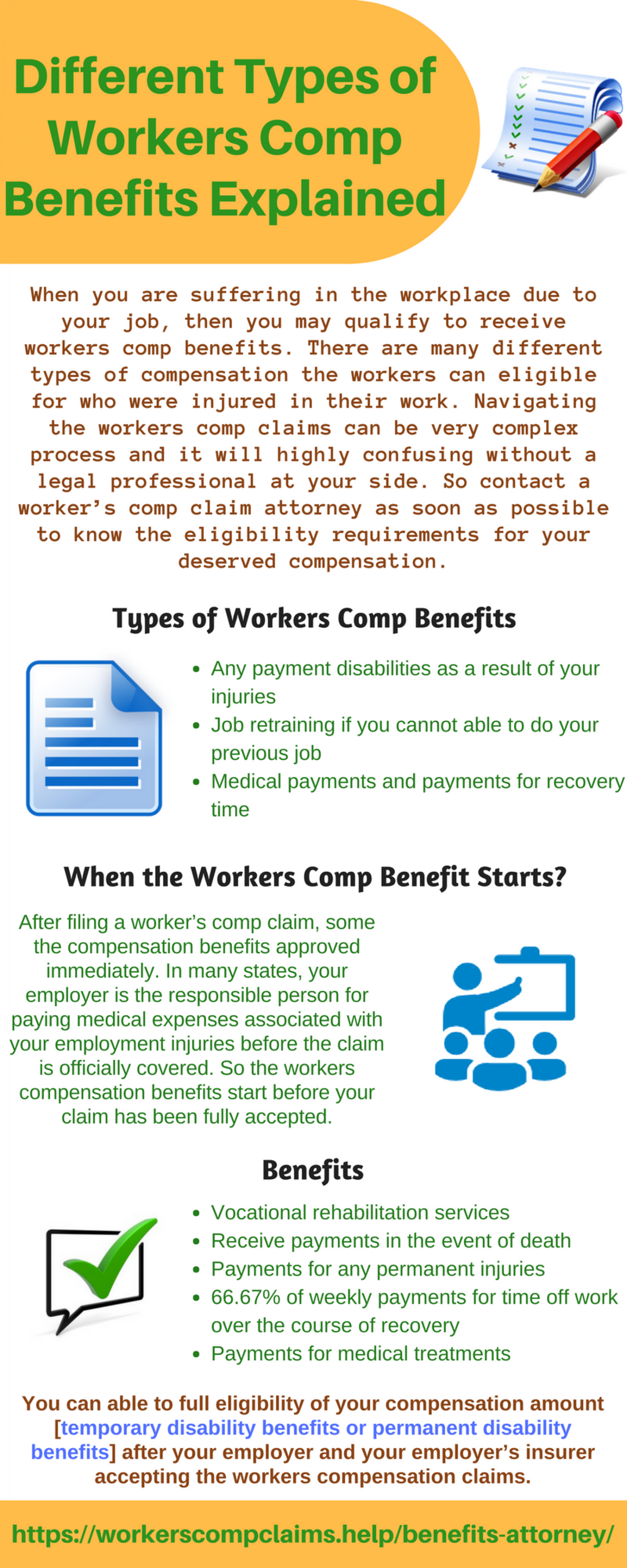 Different Types of Workers Comp Benefits Explained