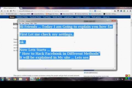 Different Ways To Hack Facebook Infographic