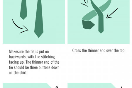 Different Ways To Tie Your Tie Infographic