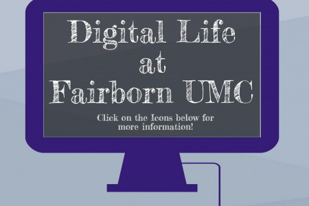 Digital Life at Fairborn UMC Infographic