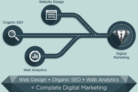 Digital Marketing & It's Most Important Elements Infographic