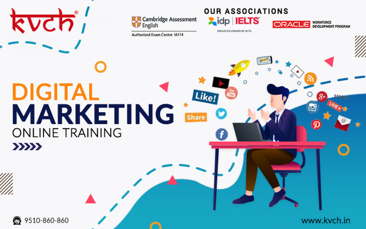 Digital Marketing Course - Learn SEM, SEO, SMO & More Infographic