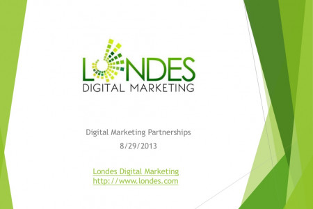 Digital Marketing Partnership Presentation Infographic