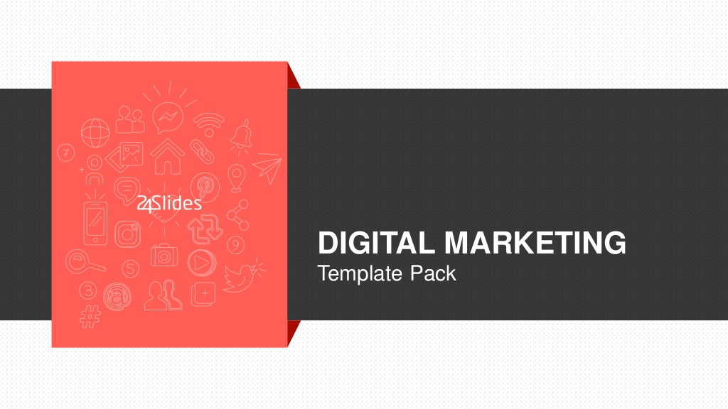 Digital Marketing PowerPoint Template | Free Download | Visual ly