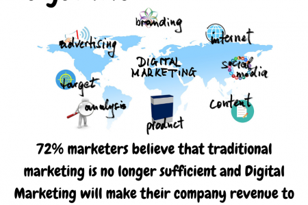 Digital Marketing Website Infographic