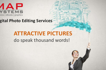 Digital Photo Editing Services Infographic