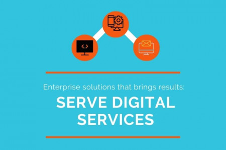 Digital Services to Scale Up Businesses Infographic