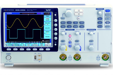 Digital Storage Oscilloscopes - GDS-3000 Series Infographic