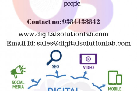 Digitalsolutionlab Gives Best services in digital marketing to achive your target audience.  Infographic