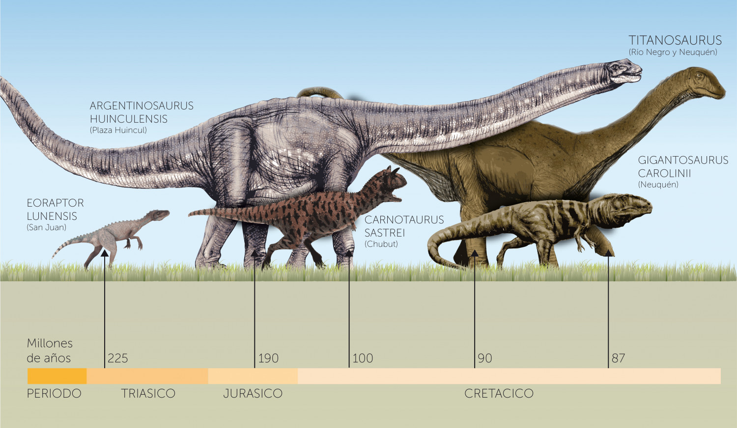 Dinosaurs Infographic