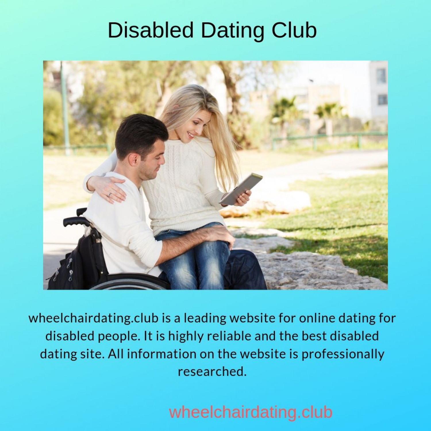Disabled Dating Club Infographic