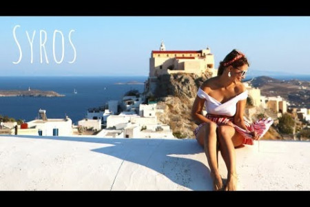 DISCOVER SYROS - The Secret Greek Island Infographic