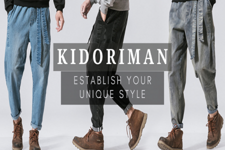 Discover the Latest Men's Outfits with Kidoriman Infographic