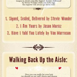 Discover The Most Popular Wedding Songs For Each Part Of Big Day