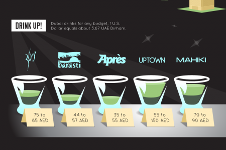 Discovering Dubai: The Nightlife and Social Scene Infographic