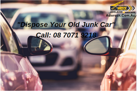 Dispose Your Old Junk Car Infographic