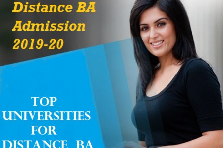 Distance BA Admission: Top Universities For Distance BA Infographic