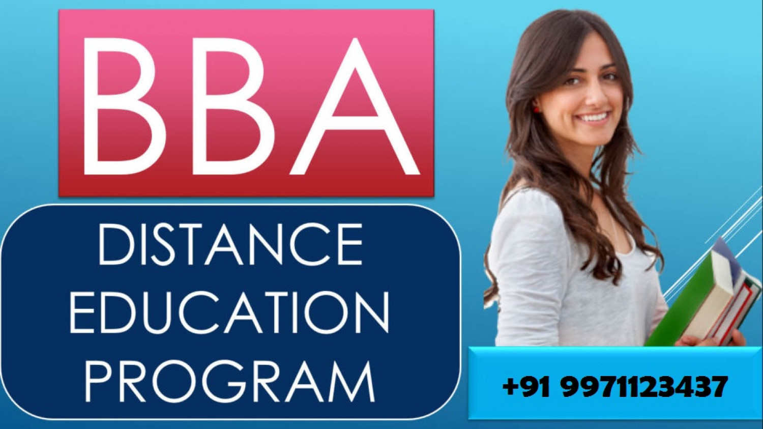 Distance BBA | Admissions Open for 2019‎-20 Infographic