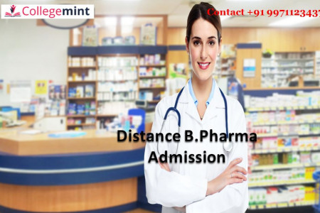 Distance B.Pharma Admission Infographic