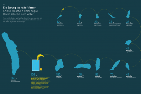 Diving into the cold water Infographic