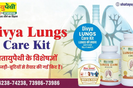 Divya Lungs Care Kit Infographic