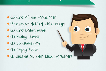 DIY Homemade Fabric Softener Infographic