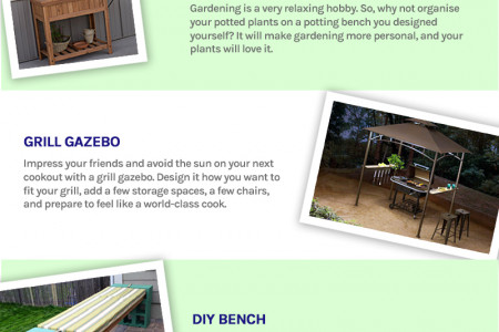 DIY Projects you can do in a Weekend Infographic