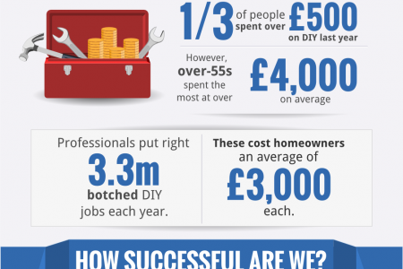 DIY STATISTICS: HOW MUCH DO WE DO OURSELVES? Infographic