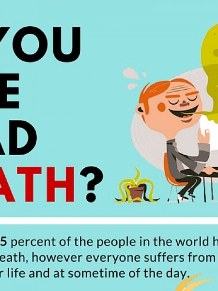 Do you have a Bad Breath? Infographic