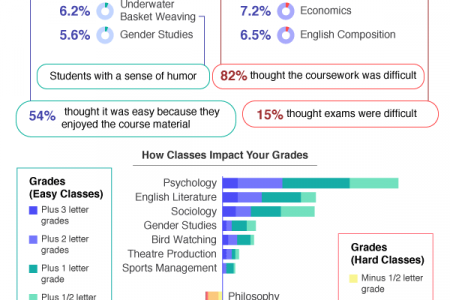 Do You Know How Much Your GPA Can Be Affected by Class Difficulty? Infographic