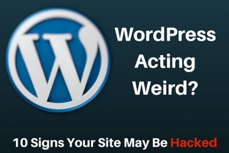 Do you know if your WordPress site has been hacked? Infographic