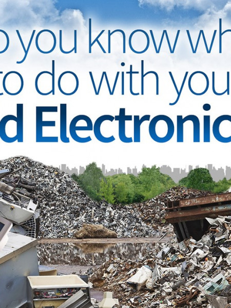 Do You Know What to Do with Your Old Electronics? Infographic