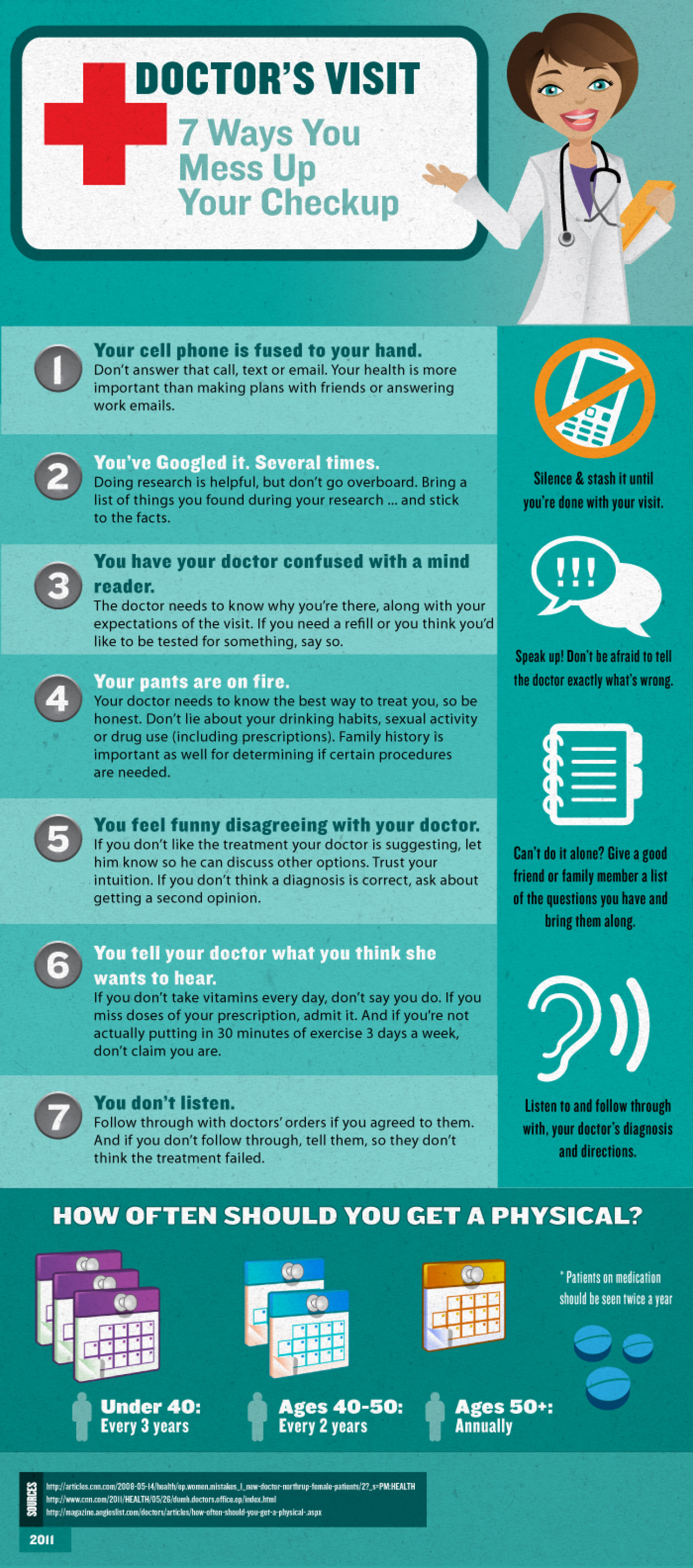 Doctors Office Etiquette Infographic