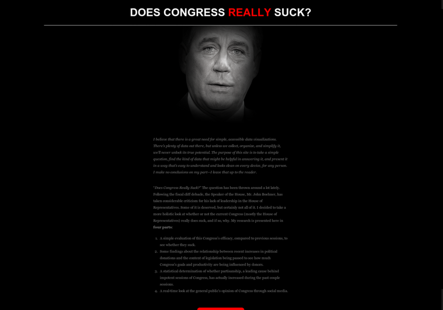 Does Congress Really Suck Infographic