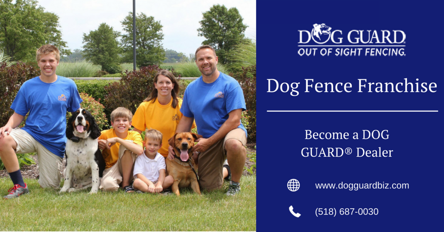 Dog Fence Franchise Opportunity - DOG GUARD  Infographic