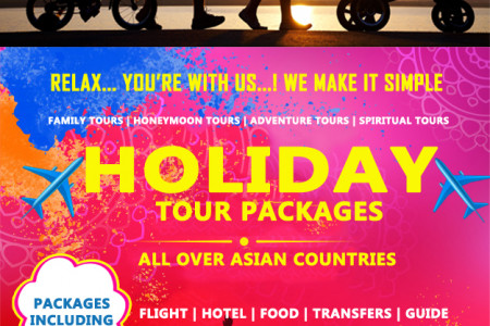 Domestic | International Holiday packages - Yatrika Tours Infographic