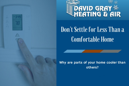 Don't Settle for Less Than a Comfortable Home Infographic