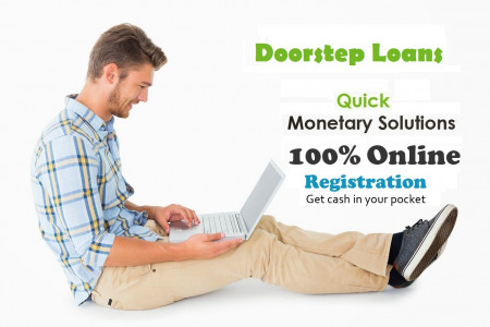 Doorstep Loans- Overcome Short Term Fiscal Issues Easily Infographic