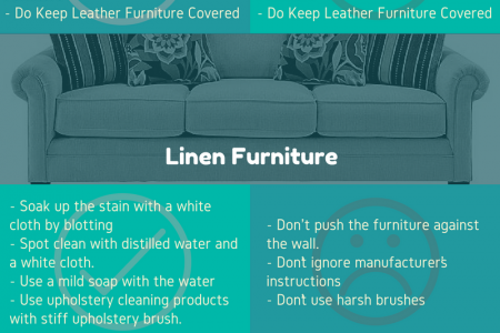 Do's and Dont's of Furniture Maintenance Infographic