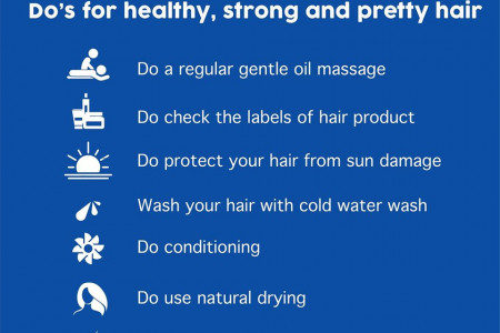 Do's for hair Loss Problems | Online Homeocare Infographic