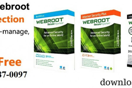 Download Webroot for Free - Phone Support 1-855-887-0097 Infographic