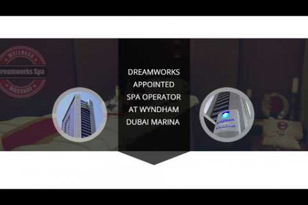 Dreamworks appointed spa operator at Wyndham Dubai Marina Infographic