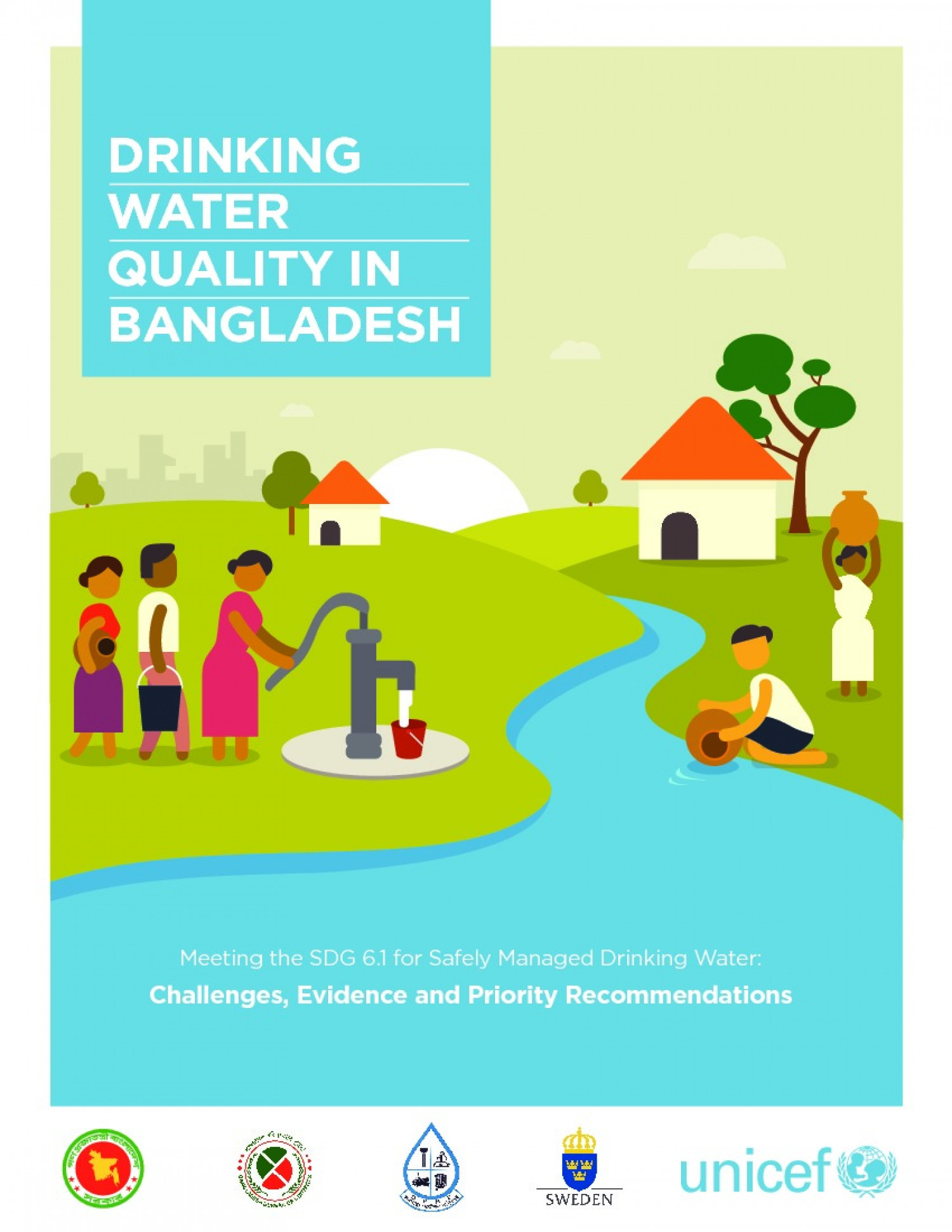 DRINKING WATER QUALITY IN BANGLADESH Infographic