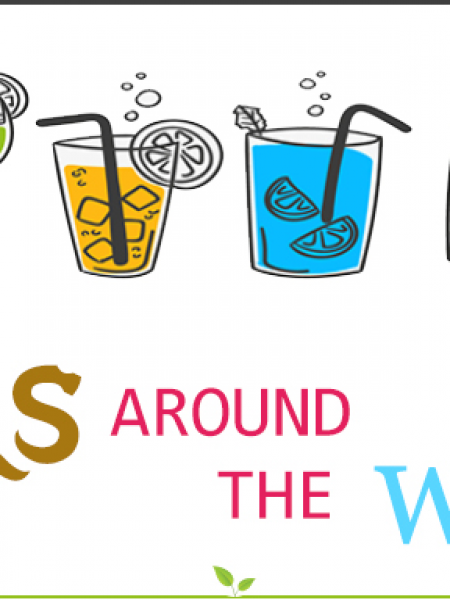 Drinks around the World Infographic