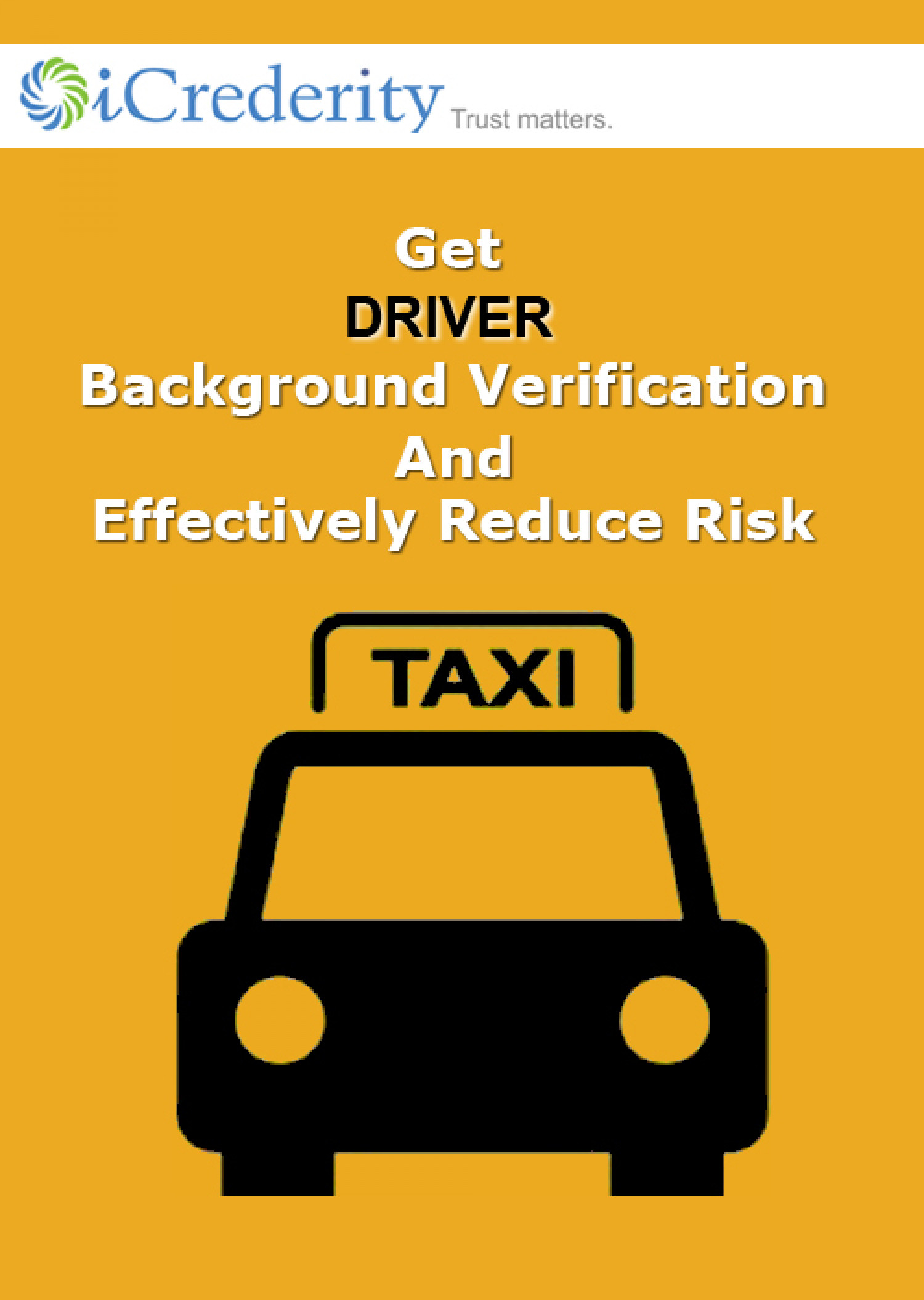 Driver Background Verification Infographic