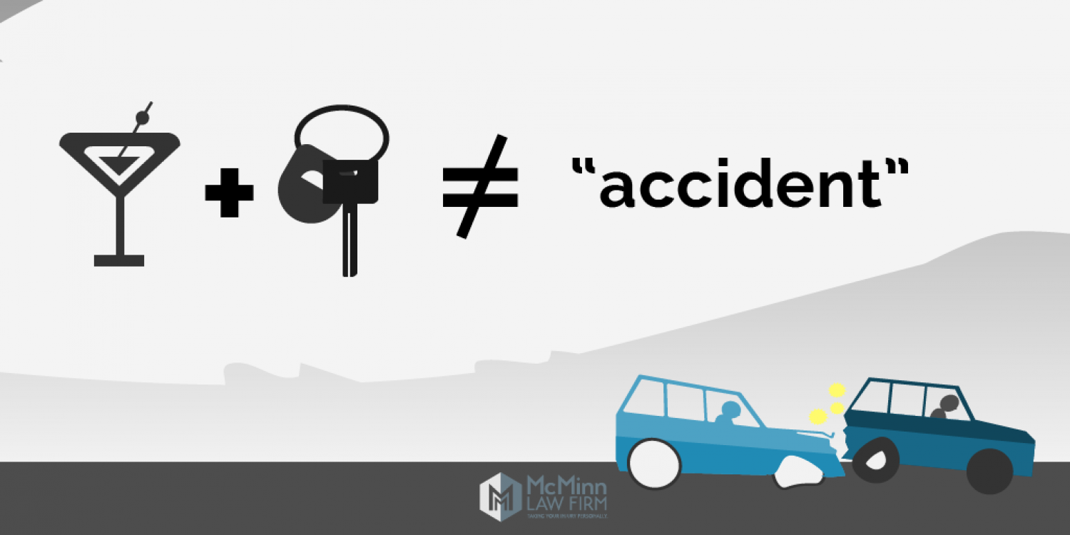 "Driving Drunk is No ""Accident"" Infographic"