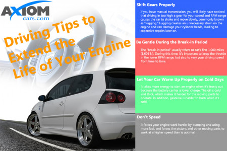 Driving Tips to Extend the Life of Your Engine Infographic