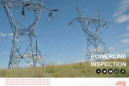 Drone Survey For Power Line Inspection Infographic